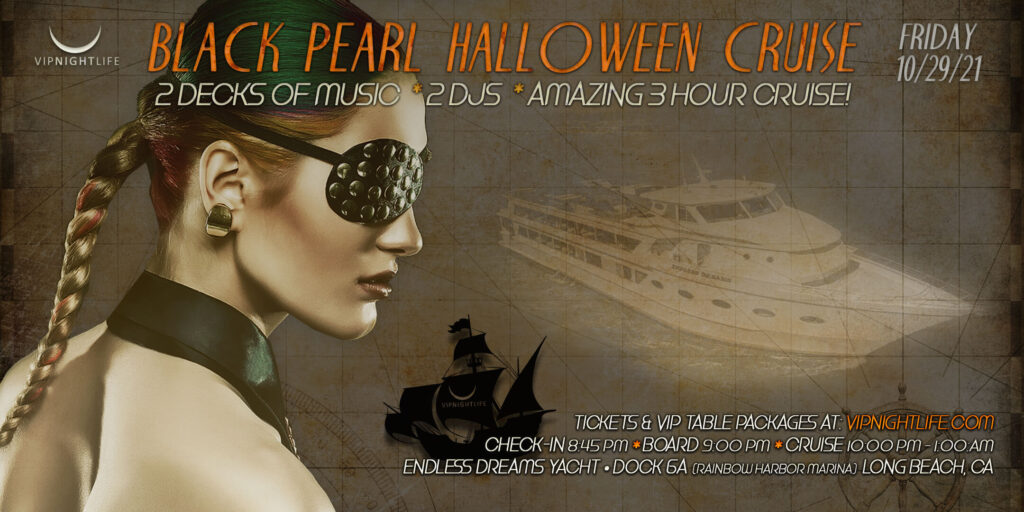 Long Beach Halloween - The Black Pearl Yacht Party